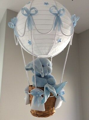 Musical moving Toy in Hot Air Balloon Light Shade