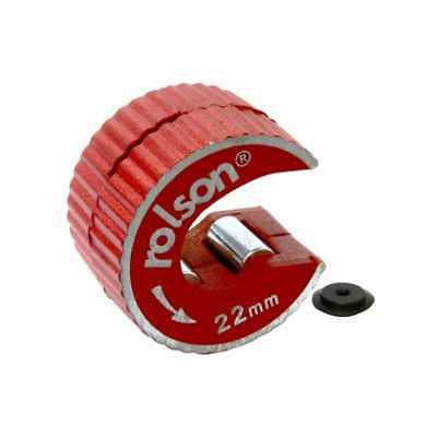 Rolson rotary 15mm & 22mm copper pipe cutter self locking + spare blade