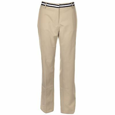 BNWT Tommy Hilfiger Arielle Khaki Golf Pants Trousers Womens Ladies UK Size 10 S