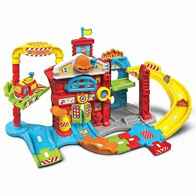Vtech Toot Toot Drivers Fire Station Engine Interactive Educational Toy Play Set