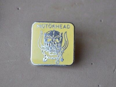 Motorhead  Metal Pin badge rock music band RIP LEMMY