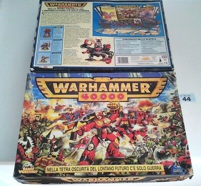 Rare Complete Italian Warhammer 40k 2nd Edition Starter Set 1997 Italiano Second