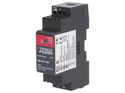 TBL015-105 Pwr sup.unit switched-mode 12W 5VDC 5÷5.2VDC 2.4A TRACO POWER