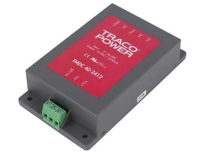 TMDC40-2412 Converter DC/DC 40W Uin9÷36V Uout12VDC Iout3330mA 162g TRACO POWER