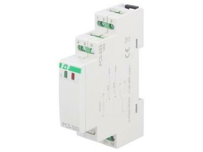 PCS-533 Timer 0,1s÷24h 9÷264VAC 9÷264VDC DIN -25÷50°C IP20 F AND F