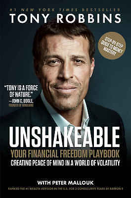 Unshakeable : Your Financial Freedom Playbook by Tony Robbins eBooks