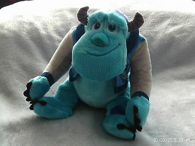 Disney / Pixar - Monsters Inc / University - Sulley Soft Plush Toy / Teddy