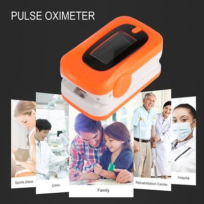 Finger Fingertip Blood Oxygen Meter SPO2 OLED Pulse Heart Rate Monitor Oximeter#