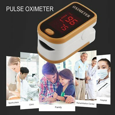 Heart rate Finger Pulse Monitor Blood Oxygen Saturation Monitor with Lanyard  RK