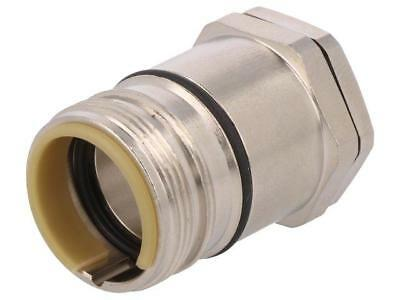 09151000373 Enclosure for circular connectors external thread straight  HARTING