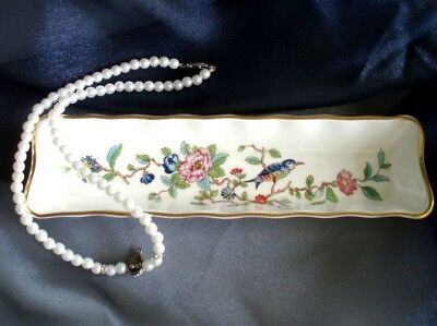 "Aynsley Bone China PEMBROKE 8 1/4"" Mint Tray"