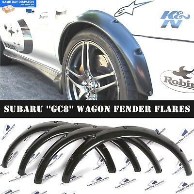 Subaru Impreza WRX 92-00 Wagon Fender Flares Wheel Arches Extensions Wide Body