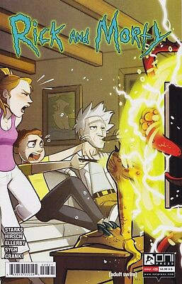 RICK AND MORTY (2015) #28 - Cover B - New Bagged