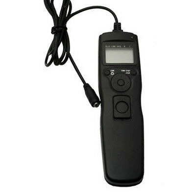 Timer Remote Switch Shutter Release Cord Cable F Canon EOS 7D Mark II III Camera