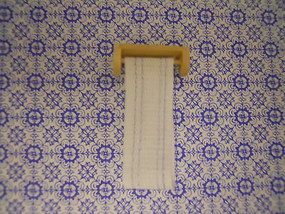 Dolls House Miniature Roller Towel In 1/24 Scale