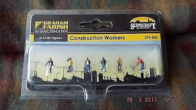 Bachmann N Scale Constrution Workers