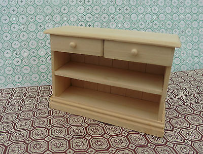 Dolls House Hand Made Miniature Furniture In 1/12 Scale Small  Drawer Unit