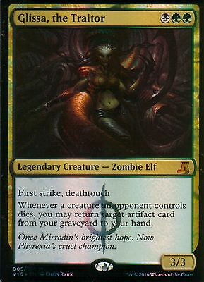 Glissa, the Traitor FOIL   NM   From the Vault: Lore   Magic MTG