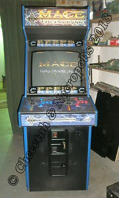 Mace the Dark Age ATARI GENUINE JAMMA ARCADE cabinet FULLY WORKING SERVICED