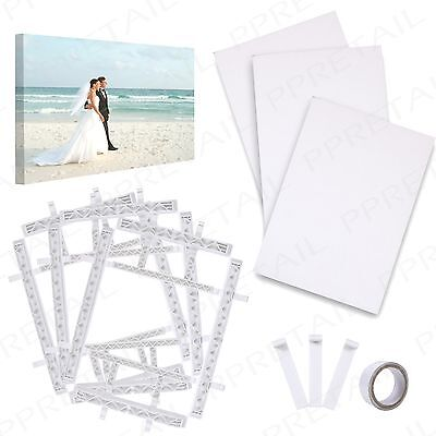 Canvas Frame +MAKE YOUR OWN+ A4 Paper/Acid Free Tape Artist/Photograph Print