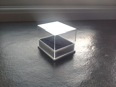 Wholesale 250 x Clear Plastic Thimble Display Gift Boxes with Black Inserts