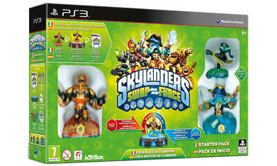 Videogioco Ps3 Skylanders Swap Force Kit Gioco Play Station 3 Ita Starter Pack