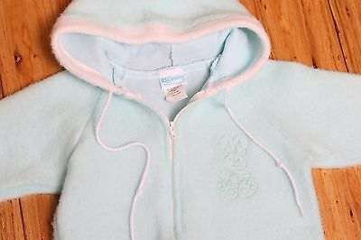 Vintage Carters Made in USA Snowsuit Winter Coverup Boys Infant Large 12 months