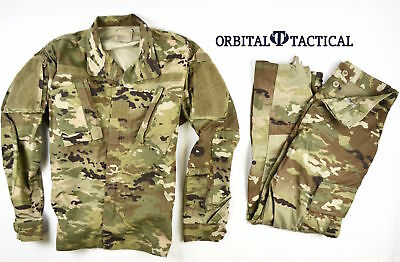 Army Usgi Military Uniform Scorpion W2 Ocp Camo Shirt Pant Mr Medium Regular