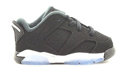 768883-003 AIR JORDAN AJ 6 RETRO LOW BT INFANTS SNEAKERS AIR JORDANBLACK METAL