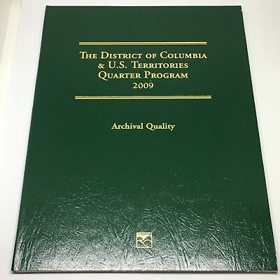 2009 The District of Columbia & US Territories Quarter Program Complete Set FS