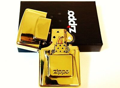 Zippo Lighter Limited Edition LUXURY GOLDEN FLAME - Super rare ltd gold brass