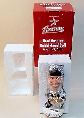 2003 Houston Astros BRAD AUSMUS Gold Glove nodder bobblehead bobber doll MINT