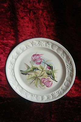 Palissy Royal Worcester Collectors Plate HUMMINGBIRD AMERICAN BIRD SERIES