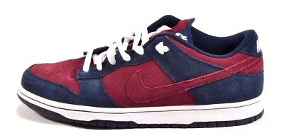 Nike DUNK LOW PRO SB Obsidian Team Red Skate Discounted (273) Men's Shoes