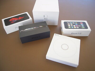 Apple Watch and *iPhone* Empty boxes - Storage (no phone or watch) - Lot of 5