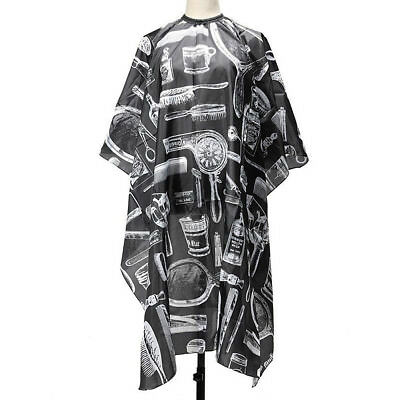 Pro Salon Hair Cutting Cape Hairdressing Hairdresser Gown Barber Clothes Black