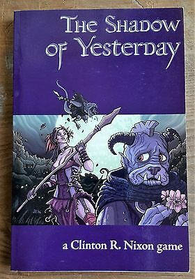 THE SHADOW OF YESTERDAY by Clinton R. Nixon (Paperback, 2005) RPG