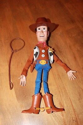 Deluxe electronic adventure Woody pull string doll 13""