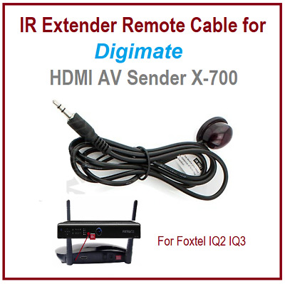 IR remote Extender Cable for Digimate X-700 HDMI AV Sender Only