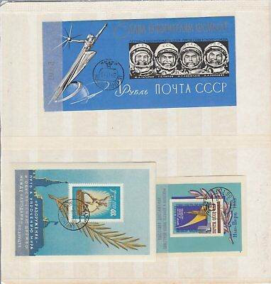 Oct703 Stamps Russia Used Lot