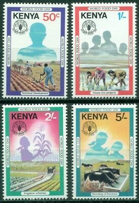 Kenya Scott #203-206 MNH World Food Day $$