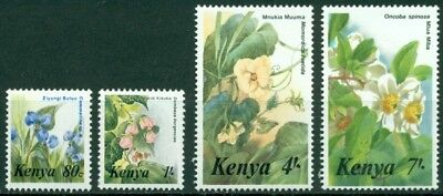 Kenya Scott #350//354 MNH Flowers Flora Assortment CV$13+