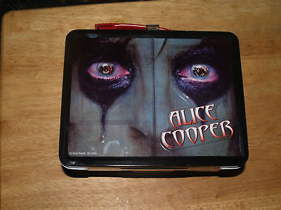 Have one to sell? Sell it yourself NECA ALICE COOPER Embossed METAL LUNCHBOX Tin