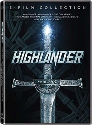 Highlander: 5-Film Collection [New DVD] 2 Pack, Widescreen
