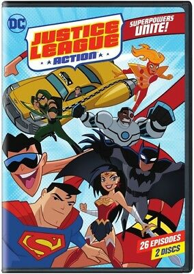 Justice League Action: Superpowers Unite Season 1 - Part 1 [New DVD] 2 Pack