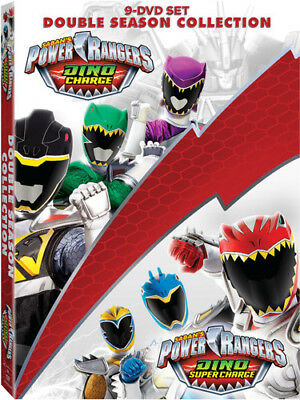 Power Rangers Dino Charge And Dino Super Charge Collection [New DVD] Oversize
