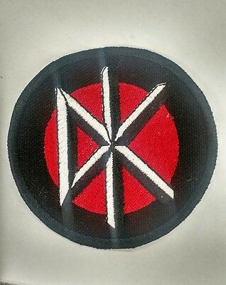 """Dead Kennedys """"DK"""" Embroidered Patch Punk Rock"""