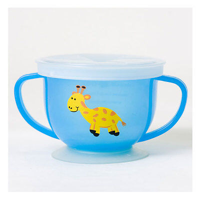 Baby Blue Snack Catcher Cup Baby Feeding