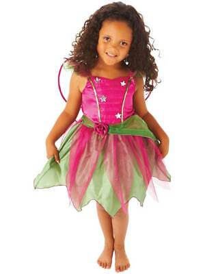 Children's Girl's Mulberry Fairy Fairytale Halloween Fancy Dress Costume 1-6 Yrs