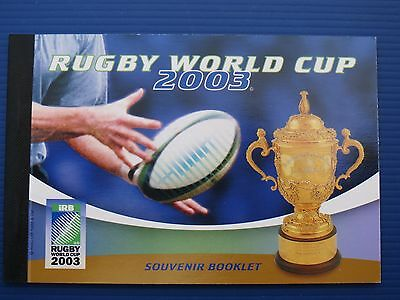 Rugby World Cup 2003 Prestige Booklet